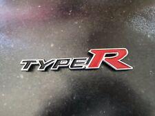Honda Civic Fn2 Fd2  Type R Rear Badge In Black  Also Integra Dc5