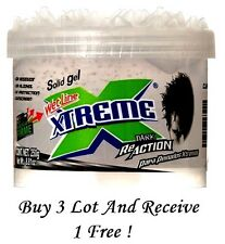 Xtreme ReAction Clear Styling Hair Gel Wetline Ultimate Hold Solid Gel 8.8 oz