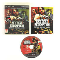 Red Dead Redemption - Edition jeu de l'année / GOTY Game of The year Jeu PS3