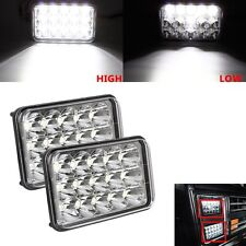 "2PC 4"" x 6"" SEALED BEAM LED HEADLIGHT FOR SUZUKI GMC HONDA KENWORTH FORD"