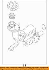 NISSAN OEM 07-10 Sentra-Brake Master Cylinder 46010ET010C