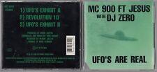 MC 900 FT JESUS WITH DJ ZERO - UFO'S ARE REAL CD 1990