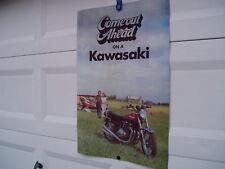 KAWASAKI PROMO POSTER 1972 73 Z1900 Z1 900 Z1-900 Z1A MK II Z1R Z2750 Z2 750 A
