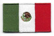 Embroidered MEXICO Flag Iron on Sew on Patch Badge HIGH QUALITY APPLIQUE