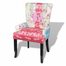 """Lappendeken fauteuil met gestoffeerde armsteun """"Relax"""" meerkleurig leunstoel"""