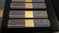 NEW LOT OF 1 TEXAS INSTRUMENTS VINTAGE IC SN74ALS632 BJD GOLD PLATED TOP (B3)