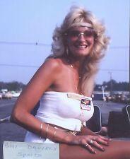 Shelley Harmon- LINDA VAUGHN  INDY 500 HURST SHIFTER TEAMMATE 8 X 10 PHOTO 1