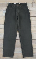 RARE New Vintage 80s MOSSIMO Gene Tapered Luxury Fit Dark Green Jeans Size 32x32