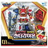 Geo Mecha Beast Guardian THUNDERLION 3 Copolymer Transforming Robot Kids Toy