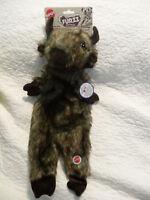 "Spot Furzz Plush Buffalo Toy for Dogs Large 18"" Long NEW"