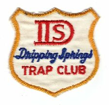 Vintage Dripping Springs Trap Club Patch