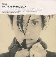CD SINGLE 2 TITRES--NATALIE IMBRUGLIA--TORN--1997