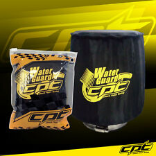 Universal Water Guard Cold Air Intake Pre-Filter Cone Filter Cover Black Medium