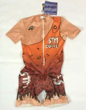 BNWT Assos CAVEWOMAN Cycling Combi Skinsuit Short Sleeve Women's Size M Padded
