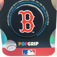 PopSockets Phone Grip MLB BOSTON RED SOX PopGrip PopSocket With Swappable Top
