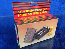 ►SOLAR BATTERY CHARGER◄CARICABATTERIE SOLARE LADER BATTERIE AA-C Ni-Ca NEW NUOVO