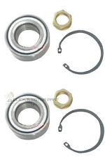 PEUGEOT 407 607 + CITROEN C6 FRONT 2 WHEEL BEARING KITS + ASB ABS NEW