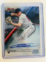2018 BOWMAN'S BEST TRISTON CASAS AUTO BOSTON RED SOX RC