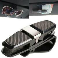 Universal Auto Car Sun Visor Glasses Sunglasses Card Ticket Paper Holder Clip AU