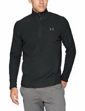 Under Armour Men's Zephyr Fleece Solid 1/4 Zip Sweater Large Black