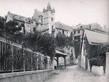 ARGELÈS GAZOST c. 1900-20 -Rue du Village Tour Mendaigne Hautes-Pyrénées- NV 895