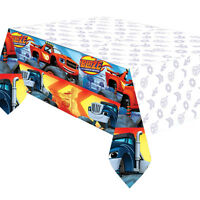 Blaze Monster Truck Plastic Tablecover Boys Party Supplies Blaze Party Tableware
