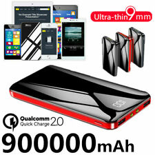 Portable 900000mAh Power Bank External Battery Backup Charger Phone LCD&LCD 2021