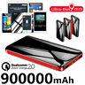 Portable 900000mAh Power Bank External Battery Backup Charger Phone LCD&LCD 2021