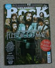 Classic Rock Magazine 242: Fleetwood Mac, Thin Lizzy, Iron Maiden + mint CD