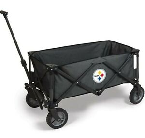 New Pittsburgh Steelers PICNIC TIME NFL Adventure Wagon PULL CART