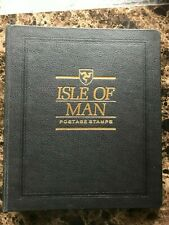 ISLE of MAN White Ace 3 Rings Binder.  Good Condition