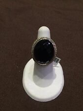 Authentic DAVID YURMAN Ring with Black Orchid and Diamonds