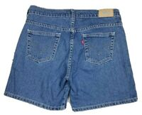 Levi's Women's 515 Denim Blue Jean Mom Shorts Size 6 Stretch