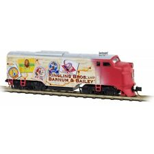 Micro-Trains 98701681 Ringling Bros Circus FT Powered A-Unit Locomotive N Scale