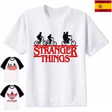 Stranger things camiseta de manga corta para hombre mujer niño niña transpirable