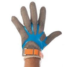15 Stück Handschuhspanner Stechschutz Fingerfix Metzgerei Gastro in blau Top Neu