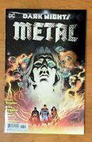 Dark Nights Metal 4 2017 Greg Capullo Cover A  Foil Stamped 1st Print DC VF+/NM