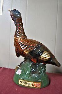 Collectible Wild Turkey Bourbon Ceramic Turkey Decanter No. 6