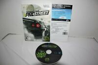 Need for Speed ProStreet Free Shipping Complete Clean Tested Nintendo Wii