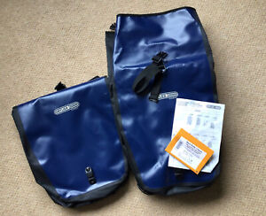 Ortlieb Back Roller Classic blue panniers (pair) QL1 System