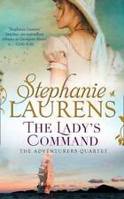 The Lady's Command The Adventurers Quartet Book 1 by Stephanie Laurens A11 LL362