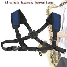 Adjustable Soft Sax Harness Shoulder Pad Strap Saxophone For Alto Tenor Soprano