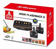 Atari Flashback 8 Game Console 2017 Retro 100+ Built in Games w/ 2 Controllers