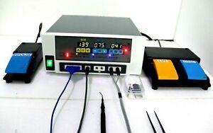Electro surgical Generator 400 w Bipolar Monopolar Modes high portability Unit