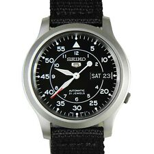 SEIKO Mens SNK809 SEIKO 5 Automatic Seiko USA Warranty Original Box Retail $185