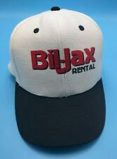 BIL-JAX RENTAL white / black adjustable cap / hat