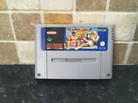 Street Fighter II 2 Turbo Super Nintendo SNES Game PAL Cart Only