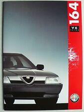 Prospetto ALFA ROMEO 164 v6 Turbo, 7.1991, 36 pagine