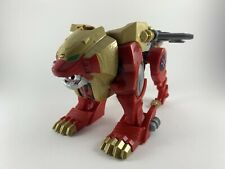New listing Power Rangers Super Megaforce Wild Force Red Lion Zord Builder