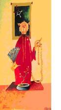 "Dr Seuss  THEODOR GEISEL       ""Wisdom Of The Orient Cat""       MAKE OFFER"